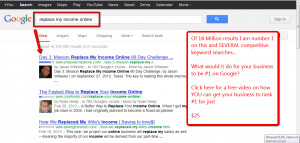 How To Get Your Business On the Top Page of Google: Three Simple Steps