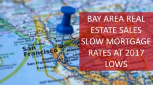 Bay Area Sales Slow Mortgage Rates Hit 6 Month Lows